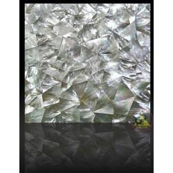 Mosaik Fliesen - weiß - Mutter der Perle