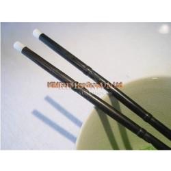 Палочки для еды из черного дерева ручной работы из бамбука + раздела стиле + головы жемчужина