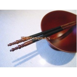 2cm x 5cm x 1cm - Chopsticks holder - Handmade from cattle white horn - Trapeziumshape shape