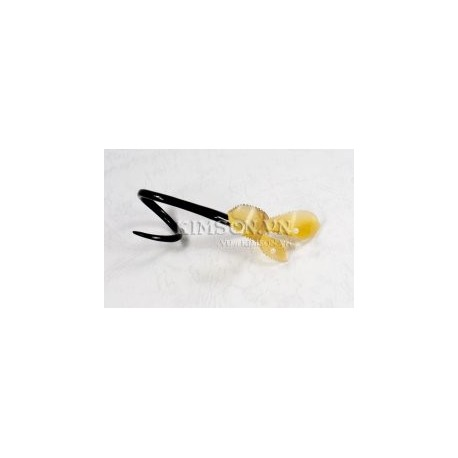 Leaf Napkin made of black and yellow marble buffalo horn