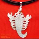 スコーピオン手作り自然母親の真珠のペンダントのネックレス