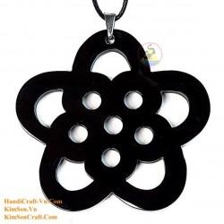 Изысканный ручной Органические Хорн ожерелье