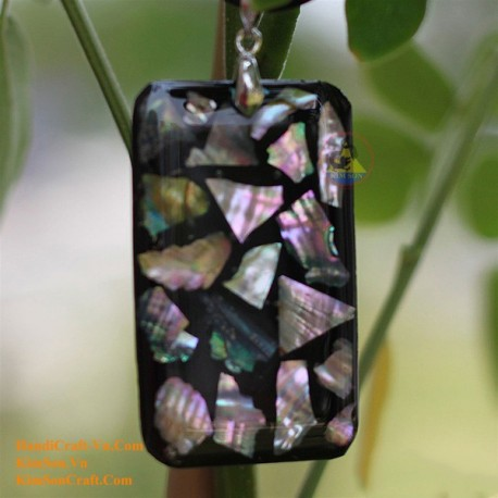 Exquisite Handmade Natural Shell & Abalone Pendant Necklace