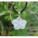 花手作り天然母親の真珠のペンダントのネックレス