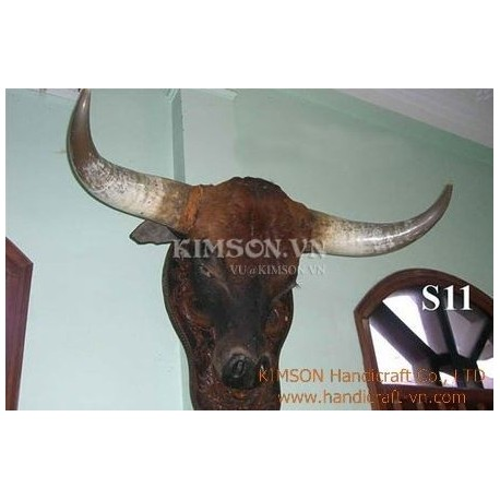 Vietnam super horn mount nice new mount off brow nice