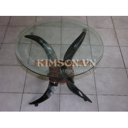 Table made of cow horn-002