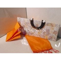 Mother of Pearl Bag and Handle Horn