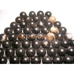 Small ball made of water buffalo black horn
