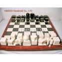 "4"" Modern Chess and chess board modern style"