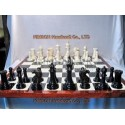 "4"" Premium Chess and chessboard old style (1850 Style)"
