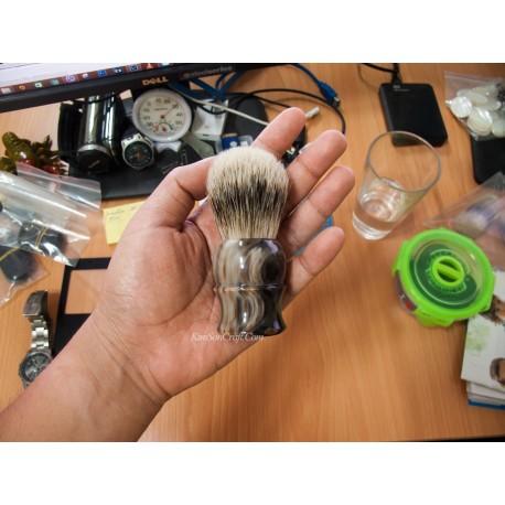 ホーン シェービング ブラシ - 大理石ユニーク色在庫がある商品。
