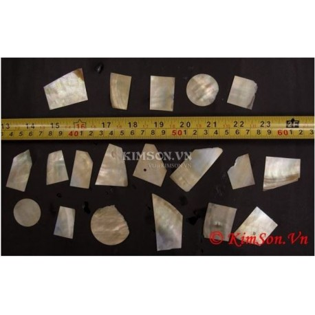 100 Grams GOLD Mother Of Pearl A Quality